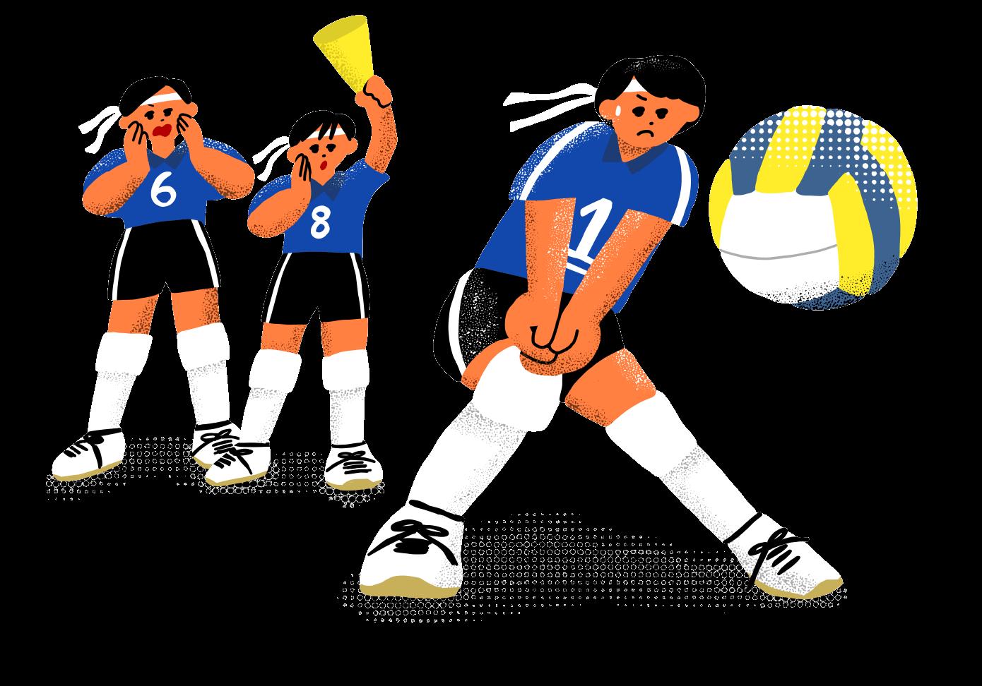 中学生の女子バレーボール部員数