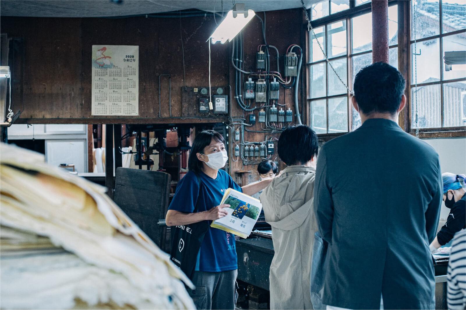 TOURISTOREの取り組みおよび、鯖江のものづくり企業への視察を受け入れています。